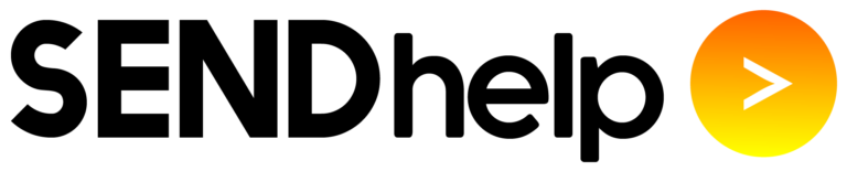 SENDhelp Education logo in black